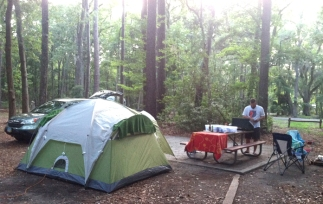 first camping trip!