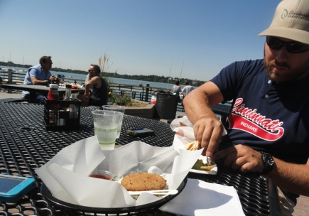 lunch at the Tin Fish on Lake Calhoun. If you go to Minneapolis, go to Lake Calhoun!