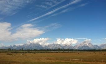 the beautiful Teton Mountains!