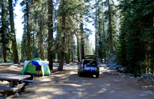 this was the last night to camp at Upper Stony Creek Campground in Sequoia National Forest. We rocked it.