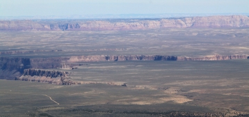 We think this is the east rim of the Grand Canyon!