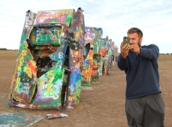 Cadillac Ranch. Amarillo, TX