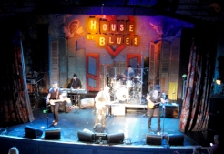 chiquita's party at House of Blues.
